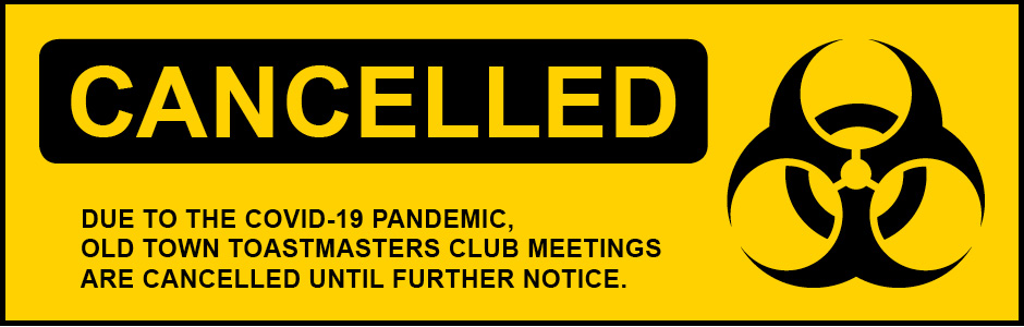 Club meetings canceled until futher notice.